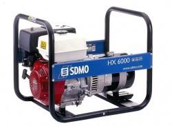 Бензиновый генератор SDMO HX 6000-C (HX 6000 S)