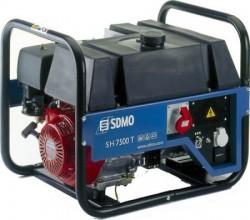 Бензиновый генератор SDMO HX 7500 T-C (HX 7500 TS)