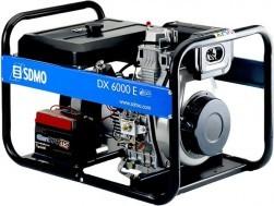 Дизельный генератор SDMO DX 6000 E XL C