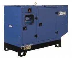 Дизельный генератор SDMO J77K в кожухе