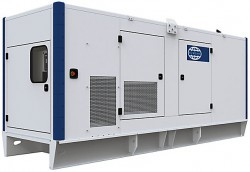 Дизельный генератор FG Wilson P450-3 в кожухе