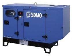 Дизельный генератор SDMO T 12HK в кожухе