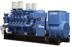 Дизельный генератор SDMO X1650C