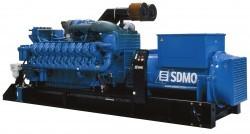 Дизельный генератор SDMO X2500C
