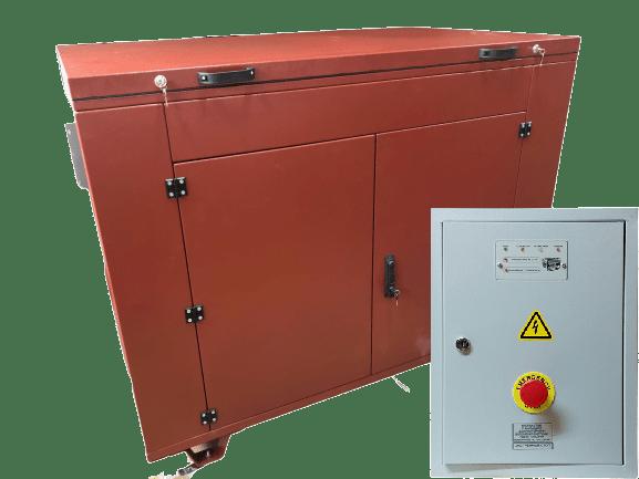 БензогенераторYAMAHA EF 13500 TE в контейнере с АВР