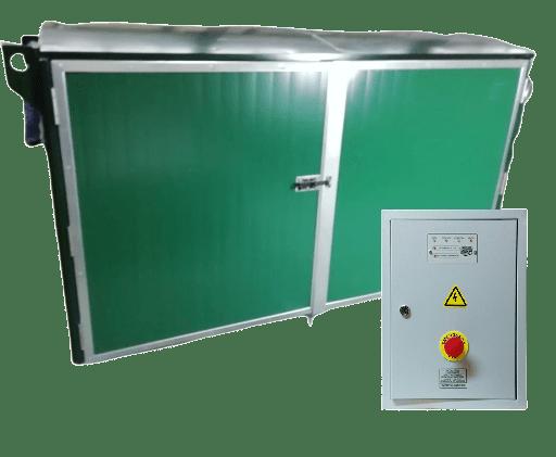 Дизельный генератор YAMAHA EDL 21000 E в контейнере с АВР