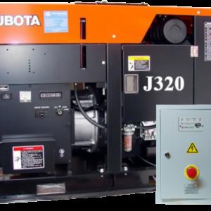 Дизельный генератор KUBOTA J320 с АВР