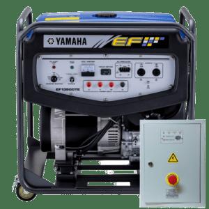 Бензогенератор YAMAHA EF 13500 TE с АВР