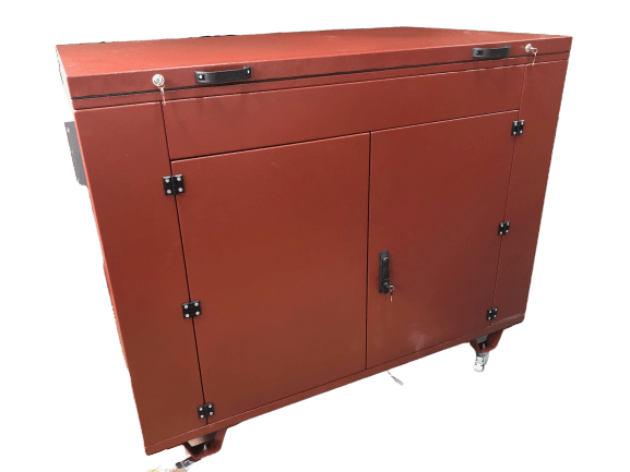 Бензогенератор YAMAHA EF 17000 TE в контейнере