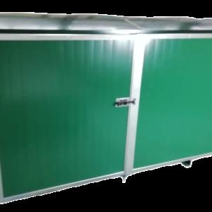 Дизельный генератор YAMAHA EDL 13000 TE в контейнере