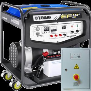 Бензогенератор YAMAHA EF 17000 TE с АВР