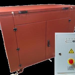 БензогенераторYAMAHA EF 14000 E в контейнере с АВР