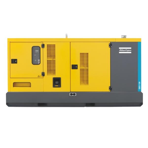 Дизельный генератор Atlas Copco QES 125 с АВР
