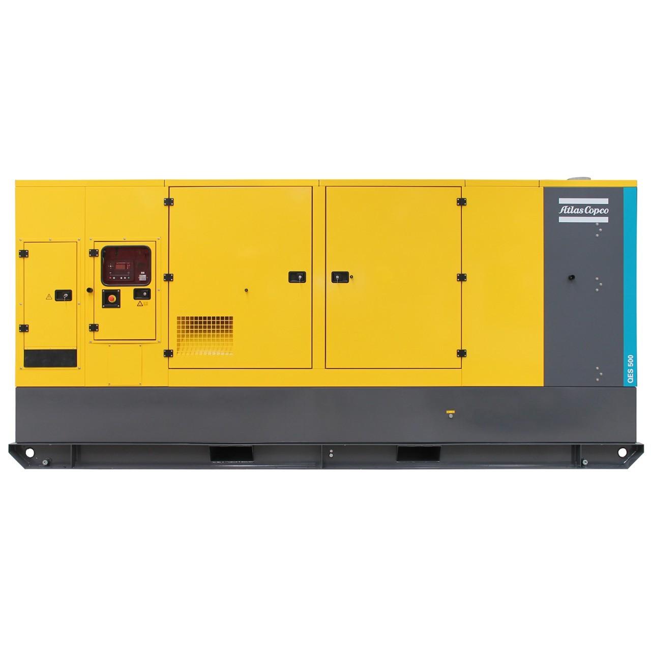Дизельный генератор Atlas Copco QES 500 с АВР