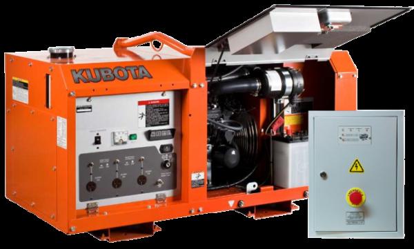 Дизельный генератор KUBOTA GL6000 с АВР
