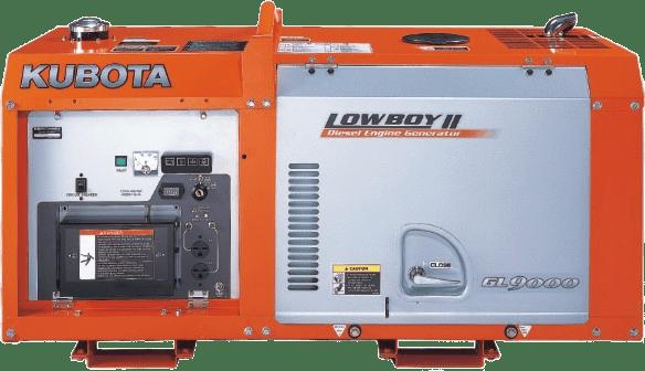 Дизельный генератор KUBOTA GL9000