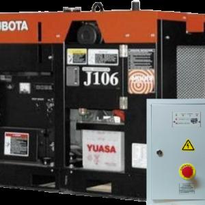 Дизельный генератор KUBOTA J106 с АВР