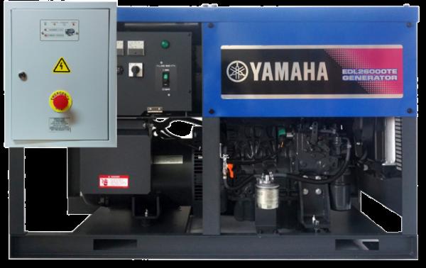 Дизельный генератор YAMAHA EDL 26000 TE с АВР