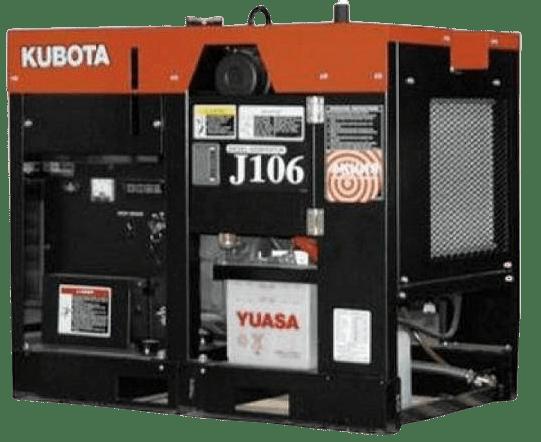 Дизельный генератор KUBOTA J106
