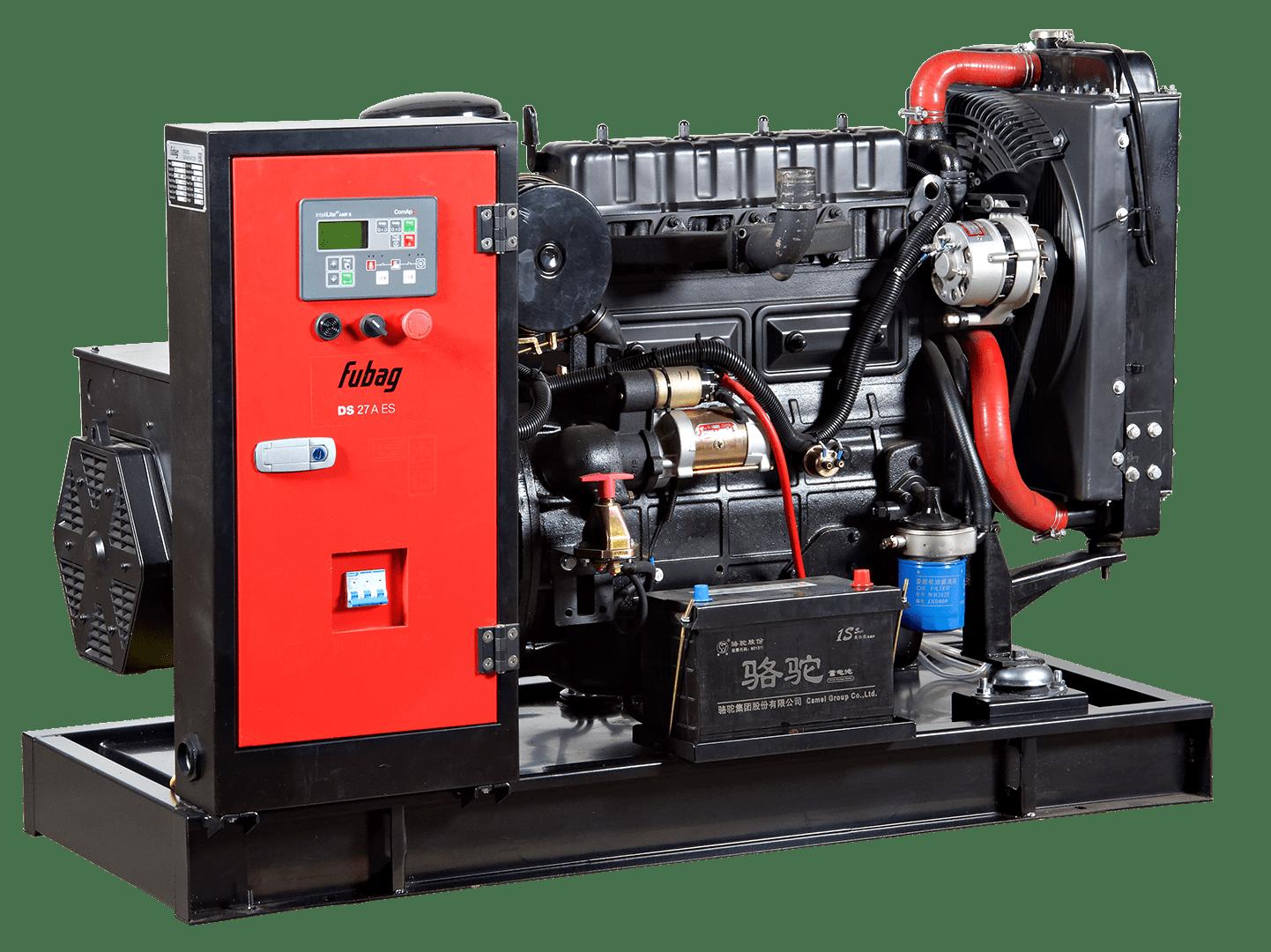 Дизельный генератор FUBAG DS 27 A ES с АВР