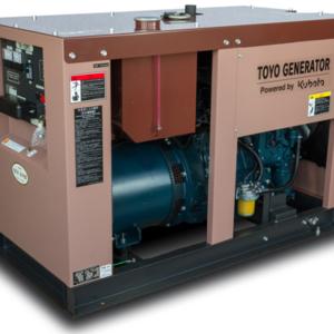Дизельный генератор TOYO TG-12SPC с АВР