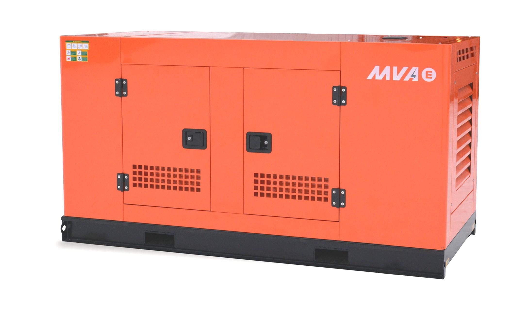 Дизельный генератор MVAE АД-30-400-РК в кожухе с АВР