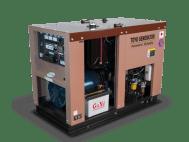 Дизельный генератор TOYO TG-14SPC  с АВР