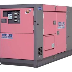 Дизельный генератор Denyo DCA-100USI с АВР