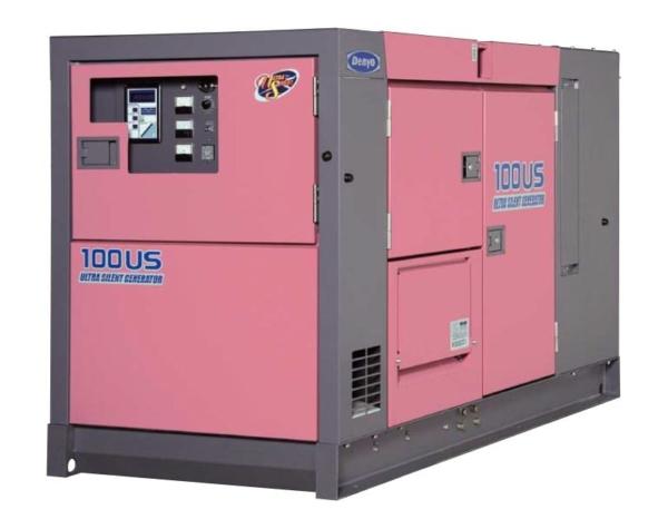 Дизельный генератор Denyo DCA-100USI