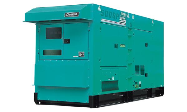 Дизельный генератор Denyo DCA-500SPK с АВР