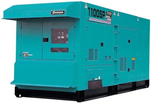 Дизельный генератор Denyo DCA-1100SPM с АВР