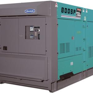 Дизельный генератор Denyo DCA-800SPK с АВР