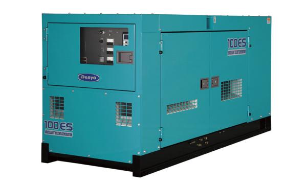 Дизельный генератор Denyo DCA-100ESI с АВР