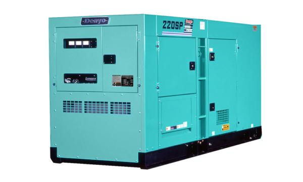 Дизельный генератор Denyo DCA-220SPK3 с АВР