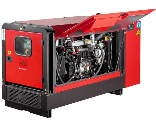 Дизельный генератор FUBAG DS 22 DAC ES
