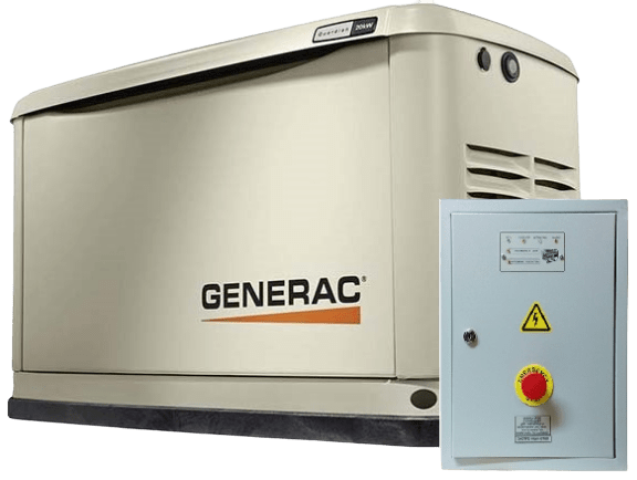 Газовый генератор GENERAC 7144 с АВР
