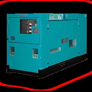 Дизельный генератор Denyo DCA-75SPI с АВР
