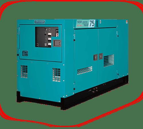 Дизельный генератор Denyo DCA-75SPI