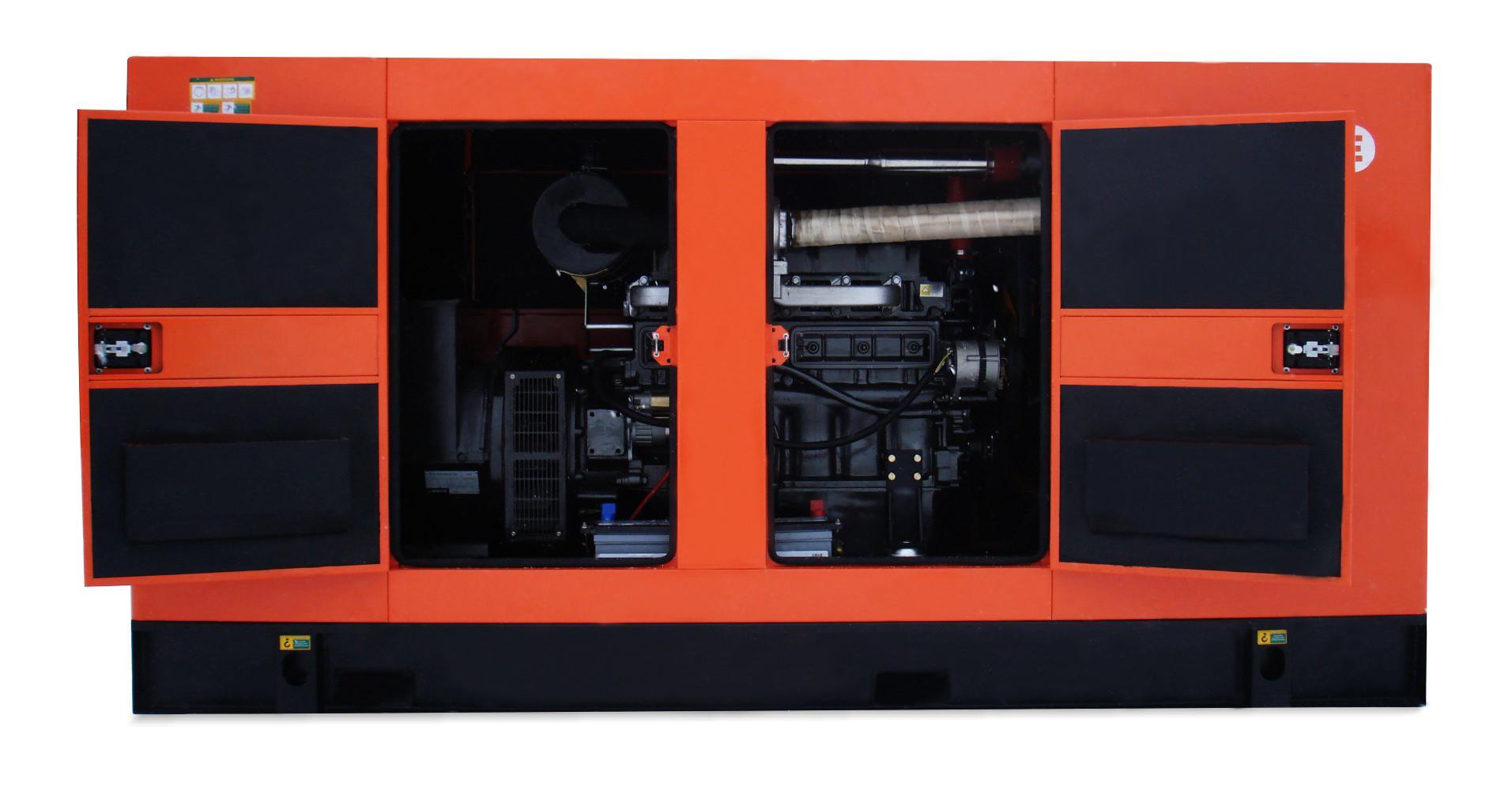 Дизельный генератор MVAE АД-100-400-РК в кожухе с АВР
