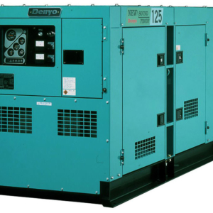 Дизельный генератор Denyo DCA-125SPK3 с АВР