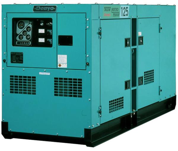 Дизельный генератор Denyo DCA-125SPK3