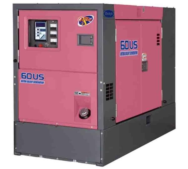 Дизельный генератор Denyo DCA-60USН2 с АВР