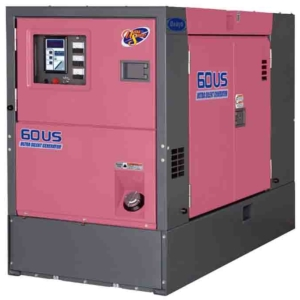 Дизельный генератор Denyo DCA-60USН2