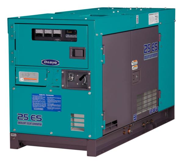 Дизельный генератор Denyo DCA-25ESK