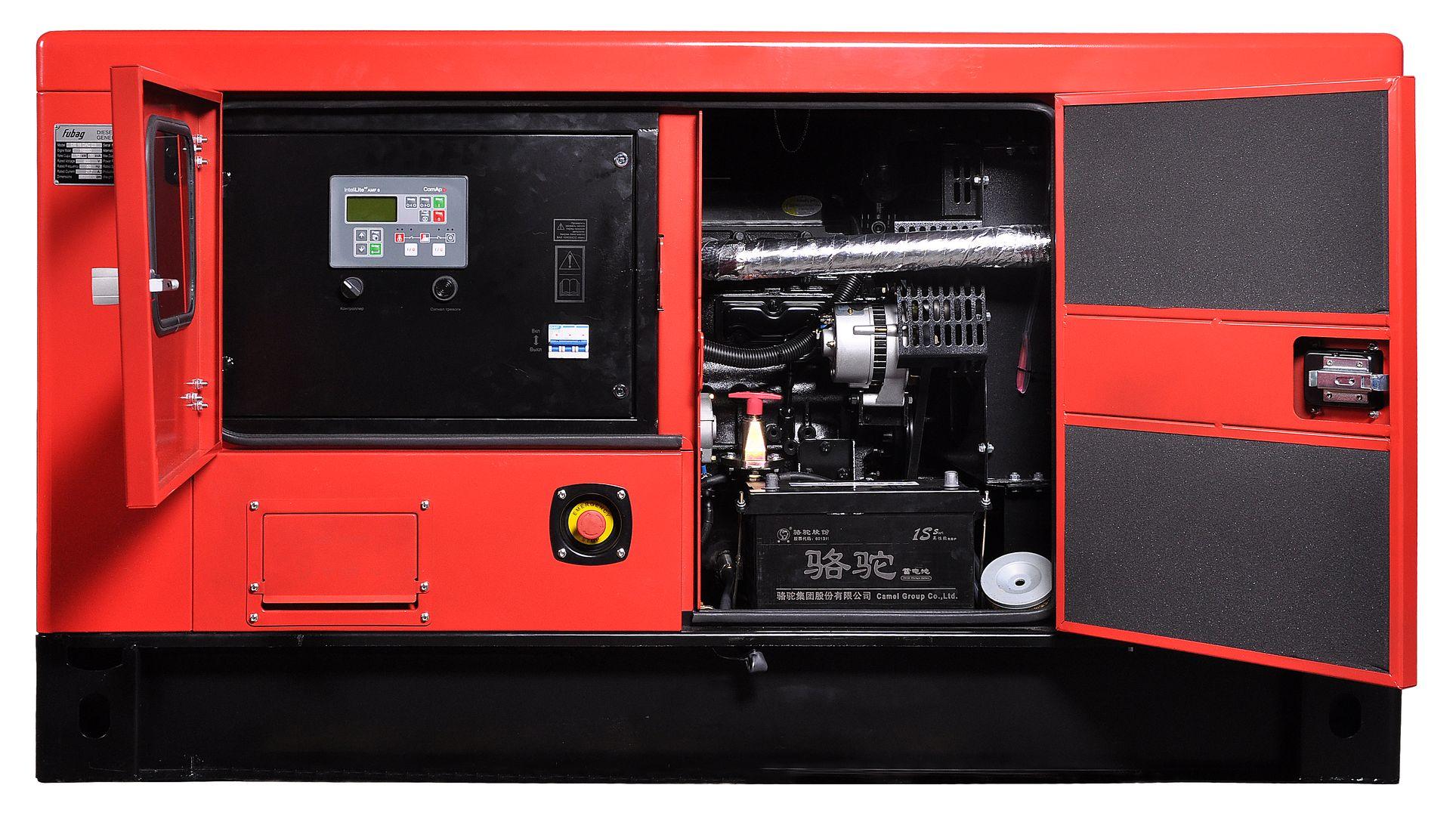 Дизельный генератор FUBAG DS 27 DAC ES с АВР