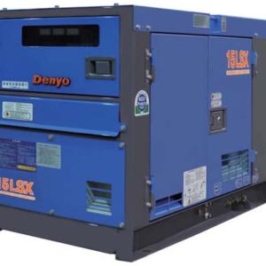 Дизельный генератор Denyo DCA-15LSК с АВР