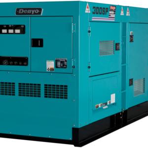 Дизельный генератор Denyo DCA-300SPK3 с АВР