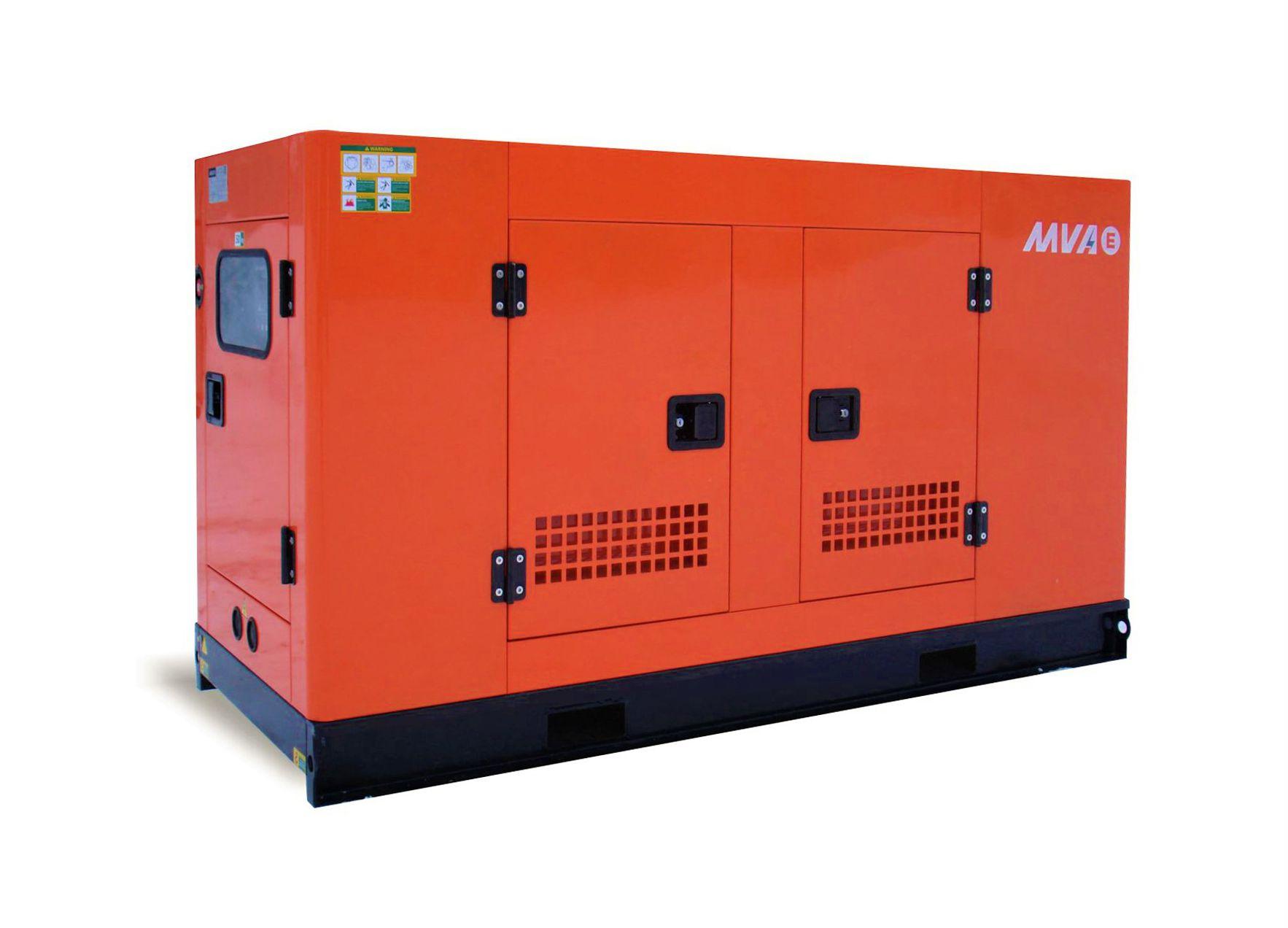 Дизельный генератор MVAE АД-10-400-РК в кожухе с АВР