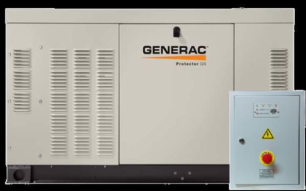 Газовый генератор GENERAC RG 027 с АВР
