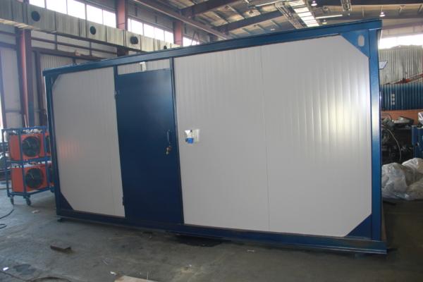 Дизельный генератор MVAE АД-200-400-Р в контейнере с АВР